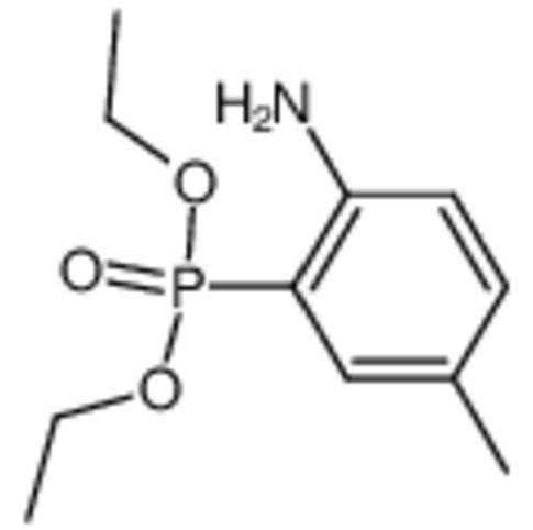 Chemical Structure for Diethyl 2-amino-5-methylphenylphosphonate