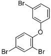 Chemical Structure for 2,3',4-Tribromodiphenyl ether (BDE 25)