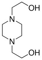 Chemical Structure for 1,4'-Bis(2-hydroxyethyl)piperazine