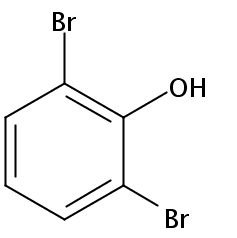 Chemical Structure for 2,6-Dibromophenol