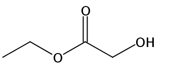 Chemical Structure for Ethyl glycolate