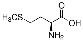 Chemical Structure for L-Methionine