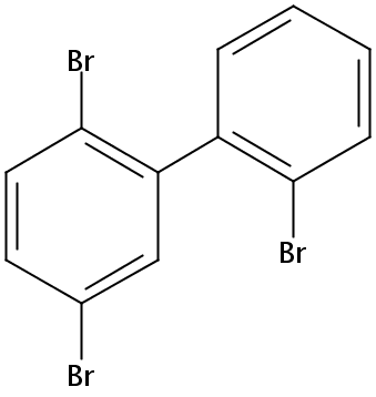 Chemical Structure for 2,2',5-Tribromobiphenyl