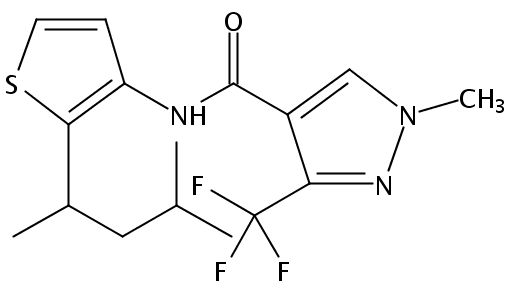 Chemical Structure for Penthiopyrad