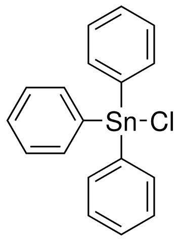 Chemical Structure for Triphenyltin chloride