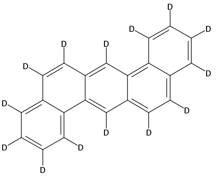 Chemical Structure for Dibenz[a,h]anthracene (d14)