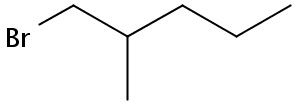 Chemical Structure for 1-Bromo-2-methylpentane