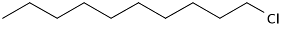 Chemical Structure for 1-Chlorodecane