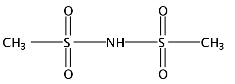 Chemical Structure for Dimethanesulfonamide