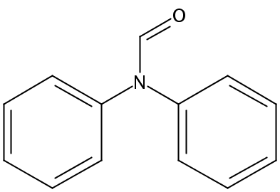 Chemical Structure for N.N-Diphenylformamide
