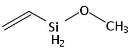 Chemical Structure for Vinyl methoxysilane