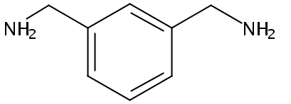 Chemical Structure for m-Xylene-a,a'-diamine