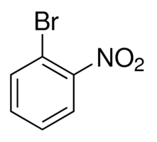 Chemical Structure for 1-Bromo-2-nitrobenzene Solution