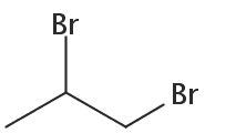 Chemical Structure for 1,2-Dibromopropane Solution