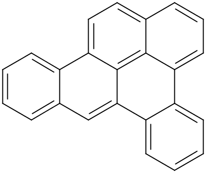 Chemical Structure for 1,2:4,5-Dibenzpyrene Solution