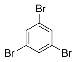 Chemical Structure for 1,3,5-Tribromobenzene Solution
