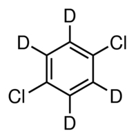 Chemical Structure for 1,4-Dichlorobenzene-d4 Solution