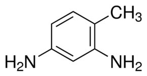 Chemical Structure for 2,4-Diaminotoluene Solution