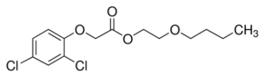 Chemical Structure for 2,4-D butoxyethyl ester Solution