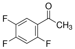 Chemical Structure for 2',4',5'-Trifluoroacetophenone Solution