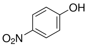 Chemical Structure for 4-Nitrophenol Solution