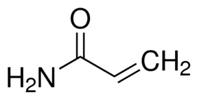 Chemical Structure for Acrylamide Solution