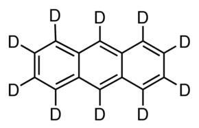 Chemical Structure for Anthracene-d10 Solution