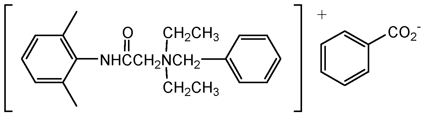 Chemical Structure for Bitrex (TM) Solution