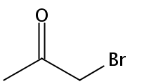 Chemical Structure for Bromoacetone Solution