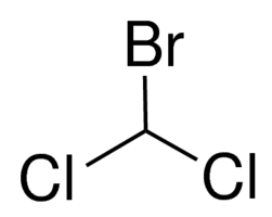 Chemical Structure for Bromodichloromethane Solution