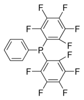 Chemical Structure for Decafluorotriphenylphosphine Solution