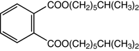 Chemical Structure for Diisooctyl phthalate Solution