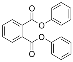 Chemical Structure for Diphenyl phthalate Solution