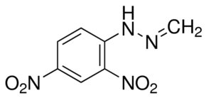 Chemical Structure for Formaldehyde (DNPH Derivative) Solution