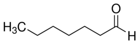 Chemical Structure for Heptaldehyde Solution
