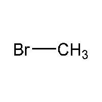 Chemical Structure for Methyl bromide Solution