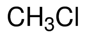 Chemical Structure for Methyl chloride Solution