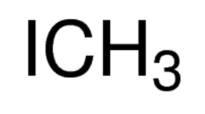 Chemical Structure for Methyl iodide Solution