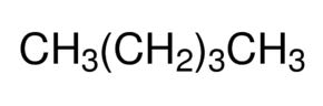 Chemical Structure for n-Pentane Solution