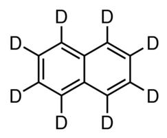 Chemical Structure for Naphthalene-d8 Solution