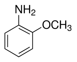 Chemical Structure for o-Anisidine Solution