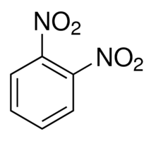 Chemical Structure for o-Dinitrobenzene Solution