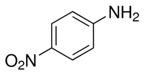 Chemical Structure for p-Nitroaniline Solution