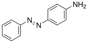 Chemical Structure for p-Phenylazoaniline Solution