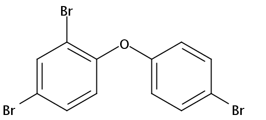 Chemical Structure for 2,4,4'-Tribromodiphenyl ether (BDE-028) Solution