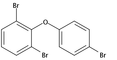 Chemical Structure for 2,4',6-Tribromodiphenyl ether (BDE-32) Solution
