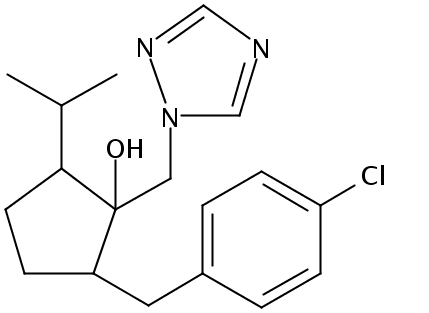 Chemical Structure for Ipconazole Solution
