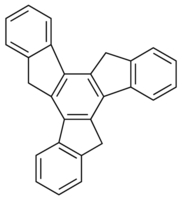 Chemical Structure for Truxene Solution