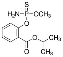 Chemical Structure for Isocarbophos Solution