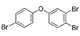Chemical Structure for 3',4',4-Tribromodiphenyl ether (BDE-37) Solution